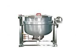 可倾式燃气锅